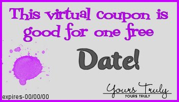 This coupon entitles you to one free date