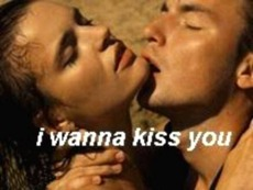 i wanna kiss you