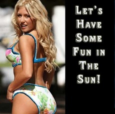 Let's have some fun in the sun!