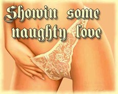 showing some naughty love