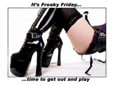 It's freaky Friday... time to get out and play