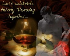 Let's celebrate thirsty Thursday together