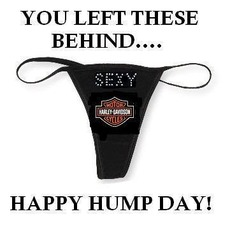 You left these behind... Happy hump day