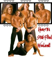 Heres to a stud-filled weekend