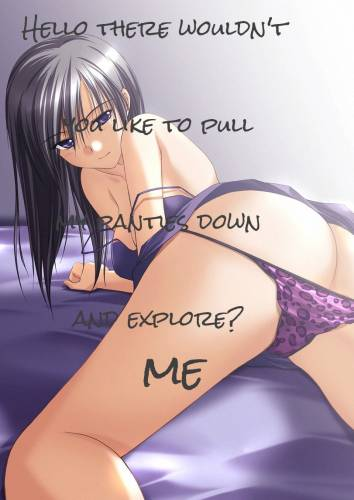 Hello there wouldn't you like to pull my panties down and explore?