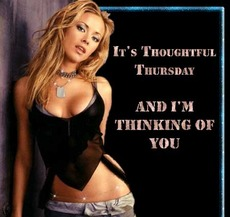 It's thoughtful Thursday And I'm Thinking Of You