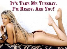 It's Take Me Tuesday.  I'm Ready. Are You?