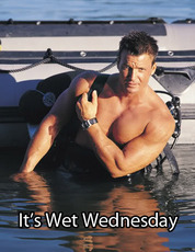 It's Wet Wednesday