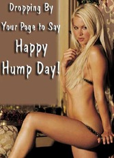 Droppin By Your Page to Say Happy Hump Day